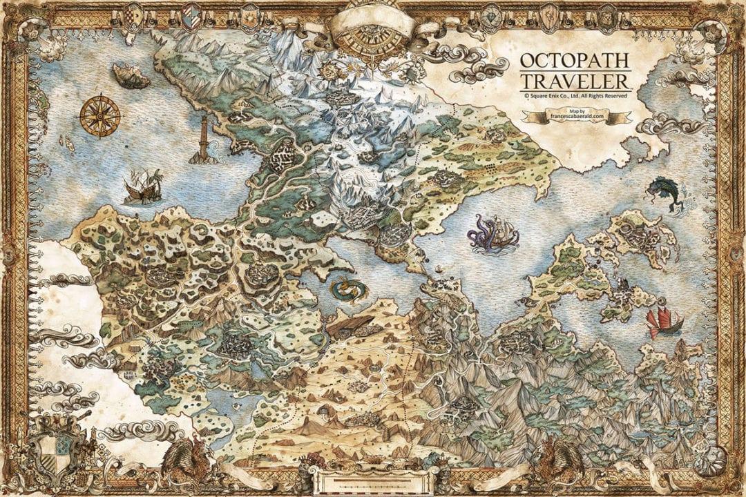 Francesca Baerald on Becoming a Full-Time Fantasy Game Cartographer