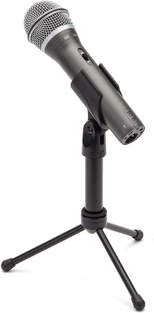 Samson Q2U Podcast Microphone Beginner Budget Friendly